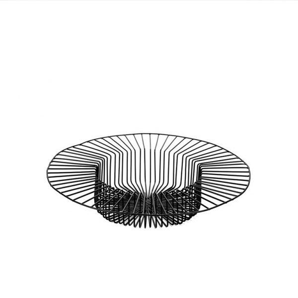 Basket-Paglieta-L-Black