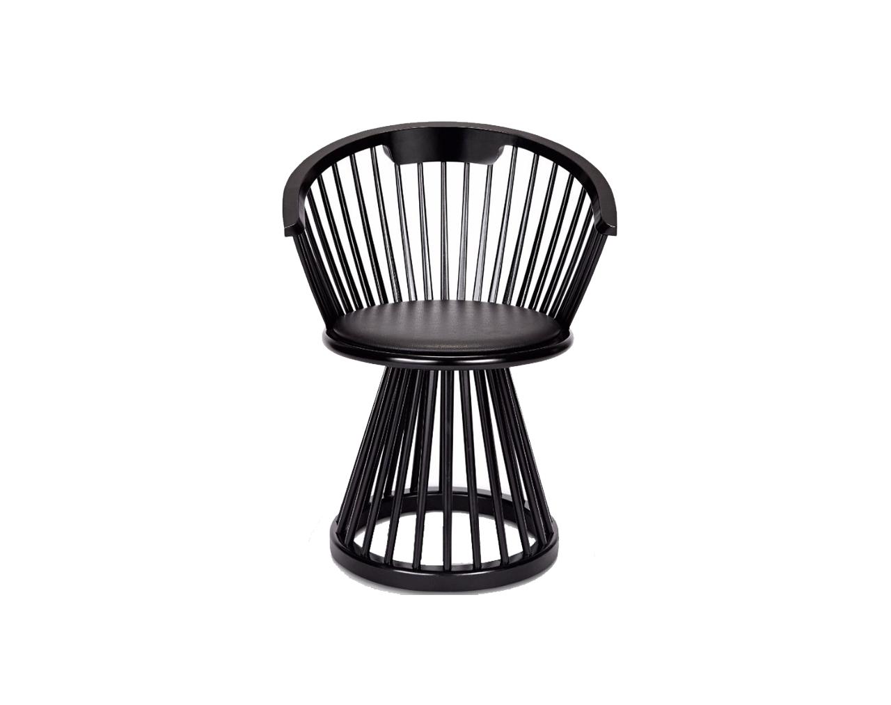 Fan-Dining-Chair-Black