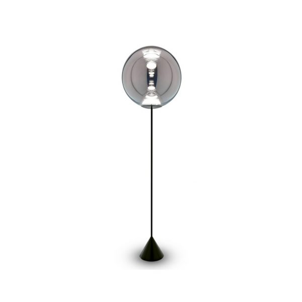 Globe-Cone-Floor-Chrome