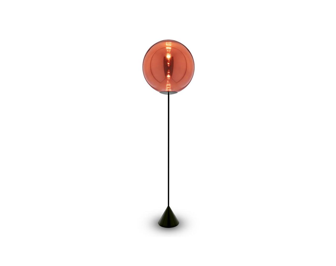 Globe-Cone-Floor-Copper