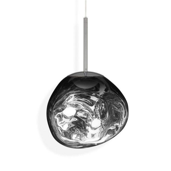 Melt-Mini-LED-Pendant-Chrome