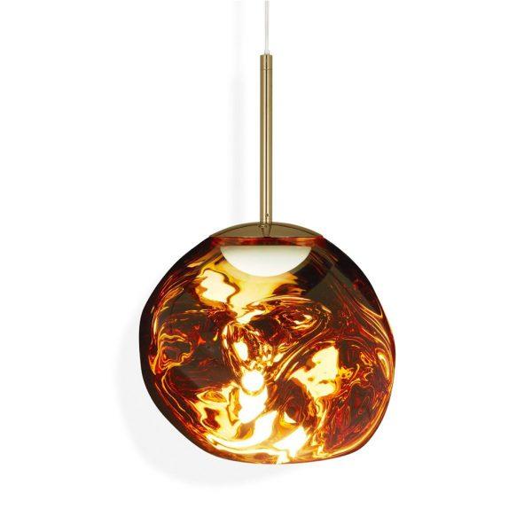 Melt-Mini-LED-Pendant-Gold