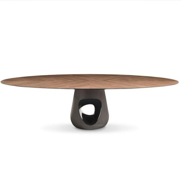 Barbara-Table-Ø160-Walnut