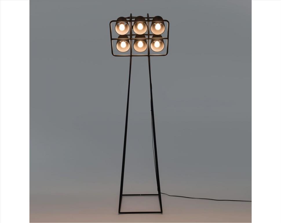 Multilamp-Floor-Lamp-Black
