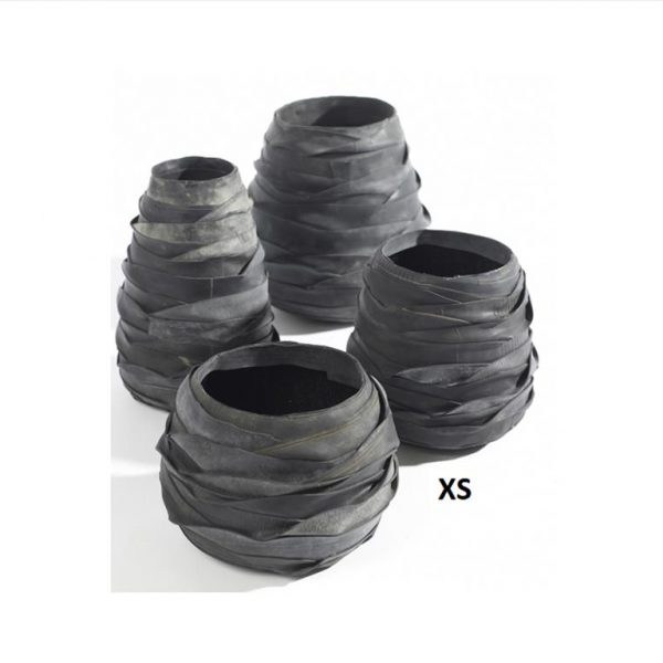 Recycle-Band-Moniek-Rubber-Vase-XS