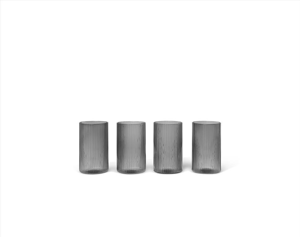 Ripple-Verrines-Smoked-Grey-Set-of-4