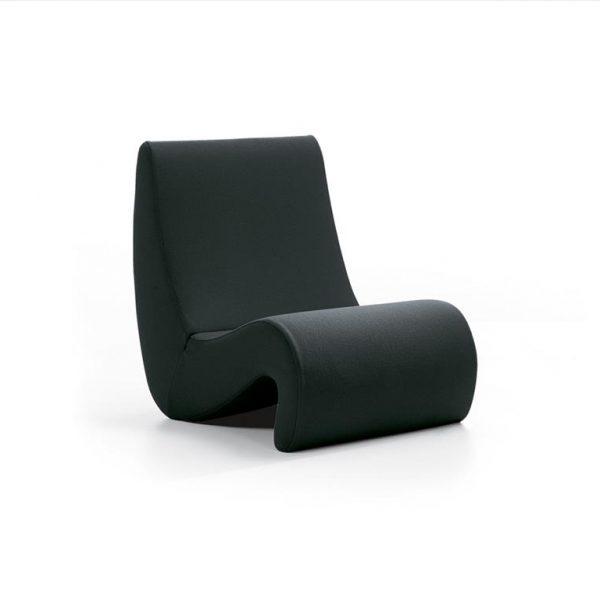 Amoebe-Chair-Black-Volo