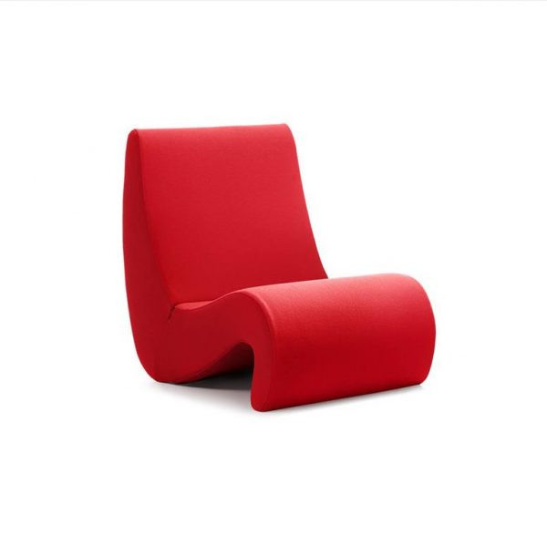 Amoebe-Chair-Red-Volo