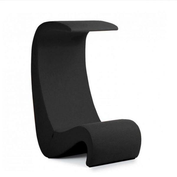 Amoebe-Highback-Chair-Black-Tonus