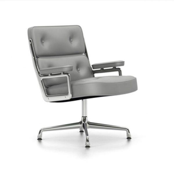 Lobby-Chair-ES-108Cement-LeatherChrome-Base