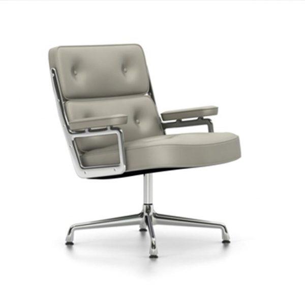 Lobby-Chair-ES-108Clay-LeatherChrome-Base