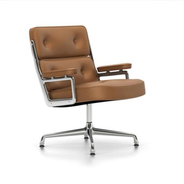 Lobby-Chair-ES-108Cognac-LeatherChrome-Base