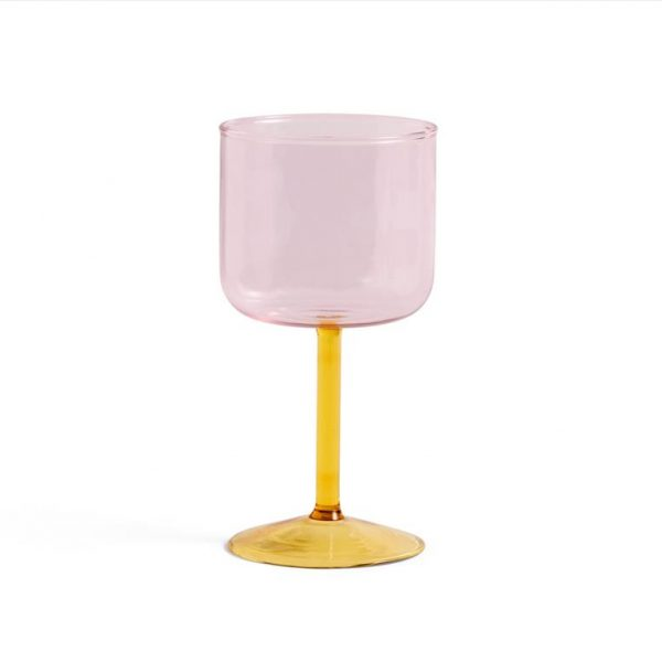 Tint-Wine-Glass-Pink-And-Yellow-Set-Of-2