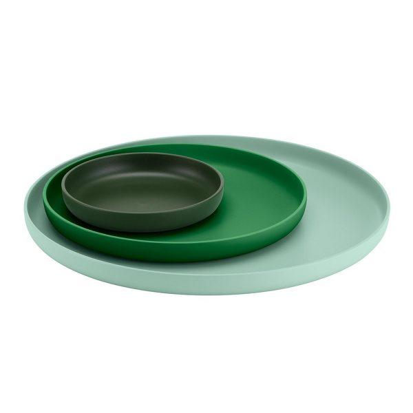 Trays-Green-Set-of-Three