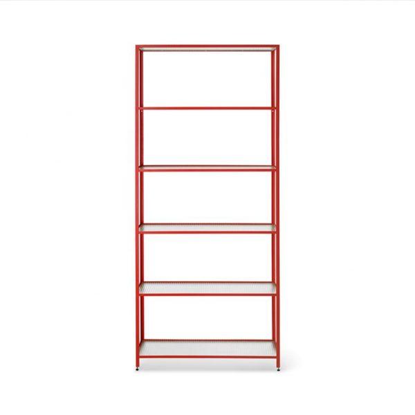 Haze-Bookcase-Poppy-Red