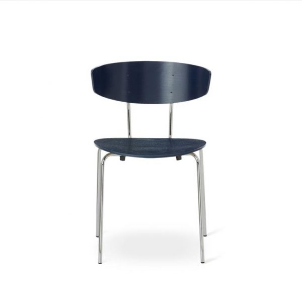 Herman-Dining-Chair-Dark-BlueChrome-Base