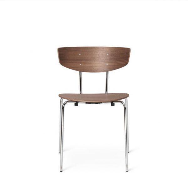 Herman-Dining-Chair-WalnutChrome-Base