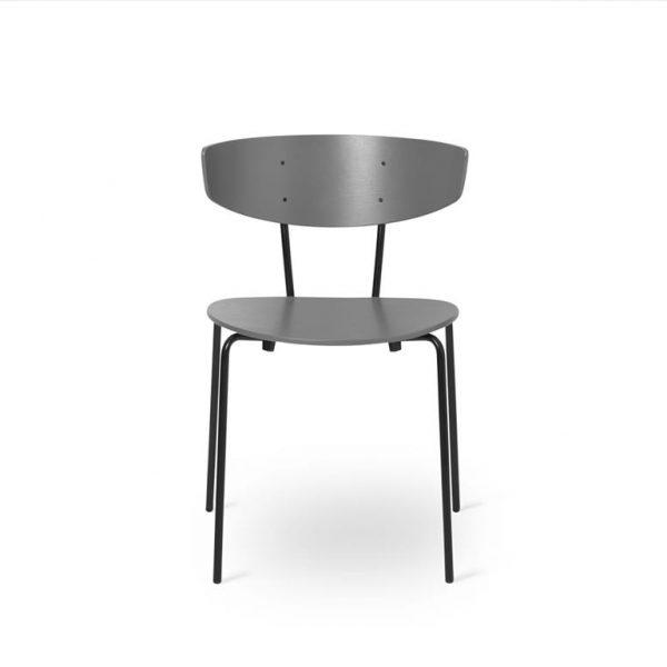 Herman-Dining-Chair-Warm-GreyBlack-Base